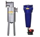 basınçlı hava gaz ve su seperatörleri