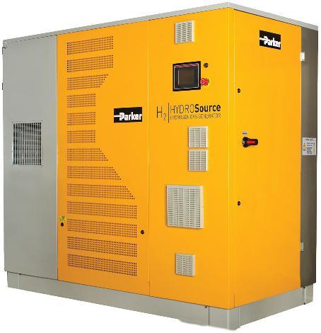 parker hidrojen jeneratörleri