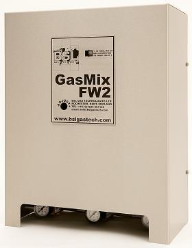 FW serisi gaz mikserleri